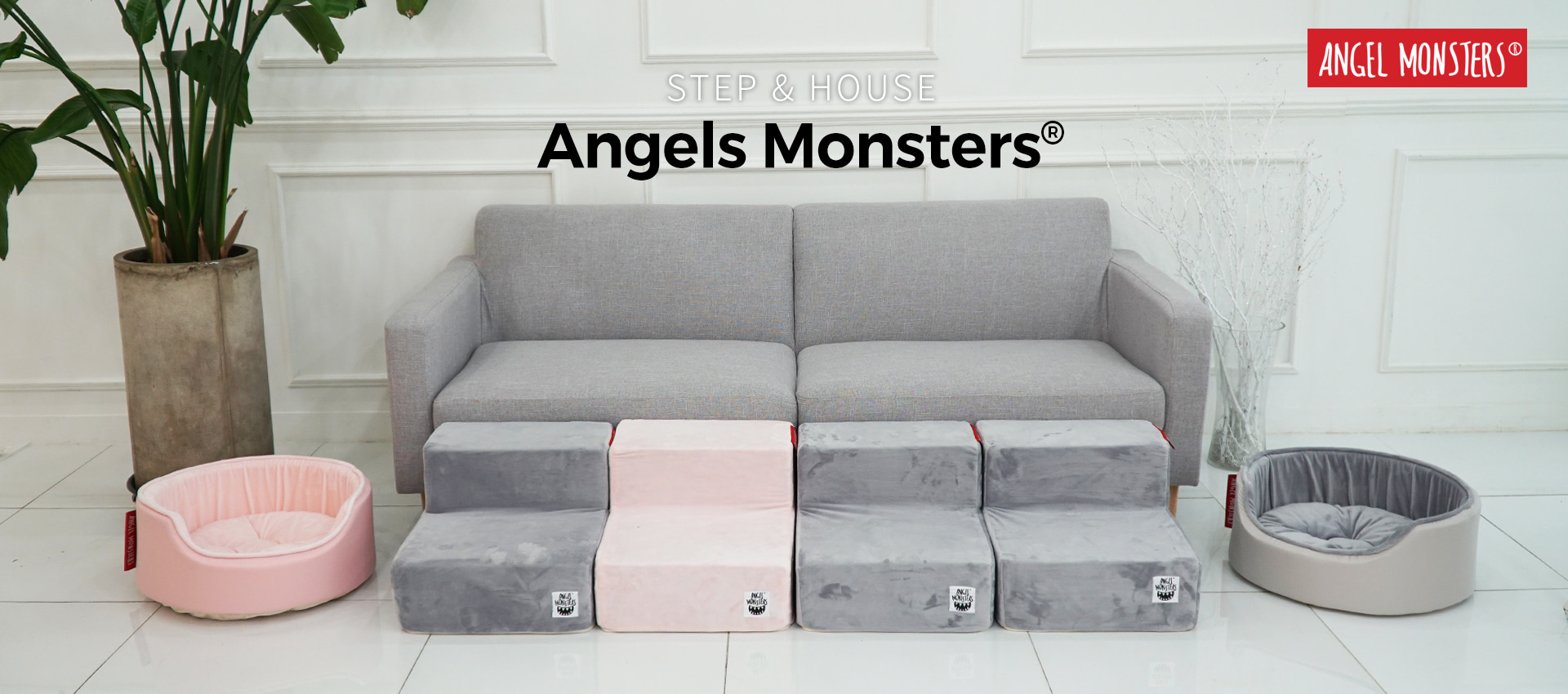 Angel Monsters Steps and Houses